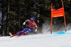 Mikaela Shiffrin Races to Her First World Cup Downhill Victory