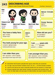 243 Learn Korean: Describing Age