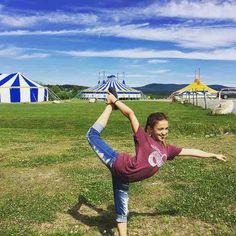 My kid ran way with the circus! @circussmirkus #circuslife #circuskid