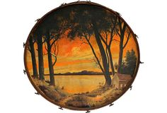1930s Painted Drum on OneKingsLane.com