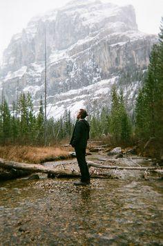 River, Mountain & Man