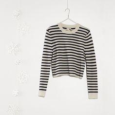 #jeansshop #fallwinter14 #fw14 #shirt #womencollection #women #levis #leviscollection #sweater #stripe #sailor #pullover #classic #lambswool #wool #standard #longsleeve