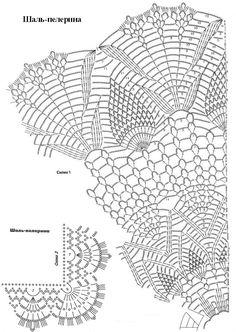 53 Fantastiche Immagini Su Scialli Rotondi Shawl Crochet Clothes