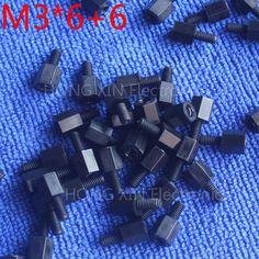 M3*6+6 1 pcs Black Nylon Standoff Spacer Standard M3 Male-Female 6mm Standoff Kit Repair Set High Quality PC tool♦️ B E S T Online Marketplace - SaleVenue ♦️👉🏿 http://www.salevenue.co.uk/products/m366-1-pcs-black-nylon-standoff-spacer-standard-m3-male-female-6mm-standoff-kit-repair-set-high-quality-pc-tool/ US $0.03