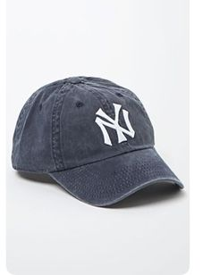 c25f4428 American Needle Washed Out NY Yankees Baseball Cap - Womens Hat - Blue - One