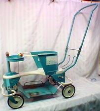 1949 Vtg TAYLOR TOT Baby STROLLER Walker BUGGY Carriage CROSS HANDLE Complete