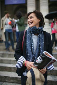 Ines de la Fressange at Paris Fashion Week - Slideshow - WWD.com