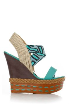 Abstract Cultural Textured Wedges