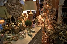 Christmas Ideas found at Old Lucketts Store in Lucketts, VA. Amazing Christmas Beauty!