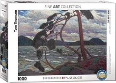 EuroGraphics The West Wind Tom Thomson Puzzle (1000 Piece)