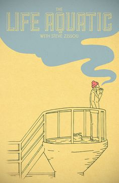 The Life Aquatic with Steve Zissou by Derek Eads | Society6