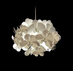 """Orchid"" light shade by Melbourne designer Alex Earl."