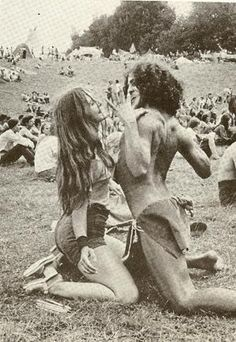 joan bryant and fantuzzi at woodstock - 1969 by TTart