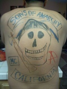 Best Sons of Anarchy Tattoo Ever