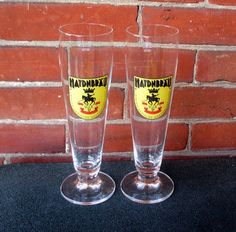 Gift for the Groom / Man Cave Decoration / by CarolesWeddingWhimsy, $19.99set of 2  Gift for the Groom - set of 2 - Vintage Austrian Beer Pilsners - Haydnbrau Beer.  It is perfect for Man Cave Decoration - the Vintage Beer Pilsner collector or anyone who just loves pilsners.  Check them out at  https://www.etsy.com/listing/194243117/gift-for-the-groom-man-cave-decoration