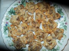 The most requested appetizers I have ever made...Sausage Wontons