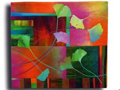 Ginko 1, 2010 Melody Johnson Quilts