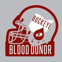 "The ""Buckeye Blood Donor"" donor gift campaign celebrates late autumn as the time of year when football championships are made. Everyone who registers to donate Monday, Nov. 6 through Saturday, Dec. 9 at a CBC Donor Center and most CBC mobile blood drives will receive the ""Buckeye Blood Donor"" t-shirt. The gray t-shirt features a scarlet and gray football helmet with the map of Ohio and the CBC blood drop as the helmet emblem."