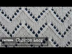 Chevron Lace #1 - YouTube