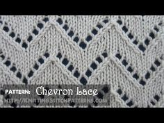 Chevron Lace #1 - YouTube