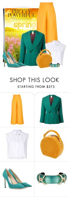 """""""spring in my style"""" by bb-tka ❤ liked on Polyvore featuring Paper London, Helmut Lang, Bertoni, Jimmy Choo, Alexis Bittar and Spring"""