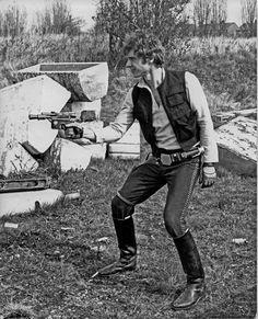 Han in a field