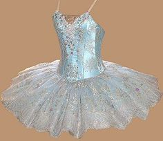 """The Fairy of the Crystal Fountain character tutu from """"Sleeping Beauty"""" by Theresa Blake of Rossetti Costumes and Bridal Gowns"""