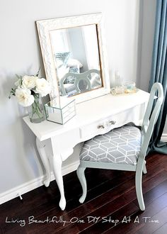 DIY vanity