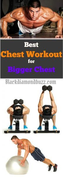 Chest Workout Routine for Mass - 10 Best Chest Workout for Men