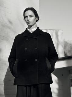 Hermès - Vestiaire d'Hiver 2015. THE PEA COAT in double-faced cashmere