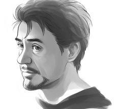 Tony doodle by *Hallpen on deviantART
