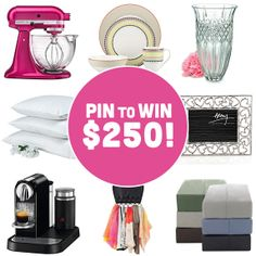 PIN IT to WIN IT! WIN a $250 Linen Chest gift card and get the PERFECT Mother's Day gift!