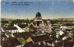 1918. Eger, az egykori zsinagóga