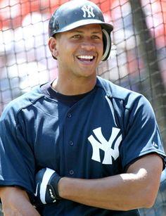 3) NY Yankee ALEX RODRIGUEZ
