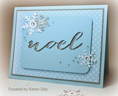 Karen's Creations: Artfully Sent Christmas Card