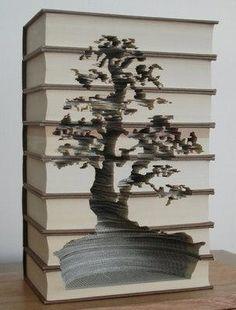 Curiosities: Books Carving