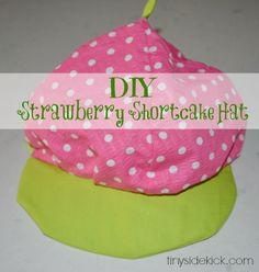 Easy Strawberry Shortcake Costume: Simple instructions for a semi-homemade version.