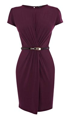Warehouse Gauged Wrap Dress Oh, the motherlode of gorgeousness is here in wrap dresses.