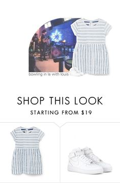 """""""bowling in la with louis"""" by canyoupleaselouis ❤ liked on Polyvore featuring MANGO, NIKE and canyoupleaselouissets"""