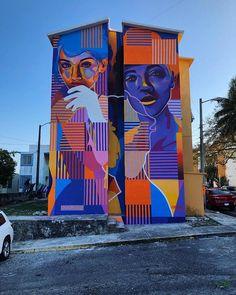 Artist: DOURONE - http://dourone.com/-   City: Veracruz, Mexico #StreetArt #urbanart
