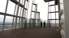 BBC News - London's Shard skyscraper observation deck opens to public