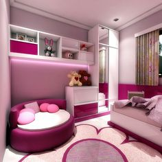 Room Decorating – Home Decorating Ideas Kitchen and room Designs Kids Bedroom Designs, Room Design Bedroom, Cute Bedroom Ideas, Cute Room Decor, Room Ideas Bedroom, Home Room Design, Kids Room Design, Home Decor Bedroom, Dream Rooms