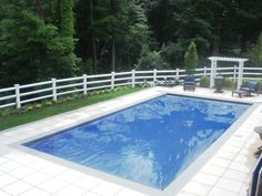 PVC Post and Rail Pool Fence Pool Fence, Environment, Outdoor Decor, Home, House, Homes, Environmental Psychology, Houses