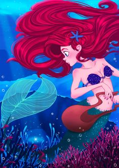 Ariel The Little Mermaid by Coralie-G