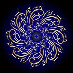 Circularity No. 434 Digital Art by Alan Bennington Mandala Drawing, Mandala Painting, Dot Painting, Mandala Dots, Mandala Design, Psychedelic Art, Stone Art, Fractal Art, Islamic Art