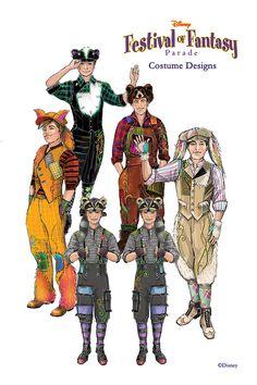 Disney Festival of Fantasy Parade: Lost Boys (Disney Released Images) Family Costumes, Boy Costumes, Disney Costumes, Movie Costumes, Halloween Costumes, Costume Ideas, Halloween Ideas, Disney Parks Blog, Disney World Parks