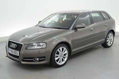 Used 2011 (61 reg) Grey Audi A3 2.0 TDI Sport 5dr [Start Stop] - SPORTS SEATS - 17 INCH ALLOYS for sale on RAC Cars
