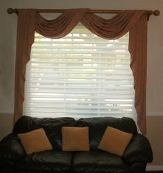 Scarf Valance And Blinds