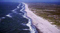 De winderige zandstranden van West-Jutland