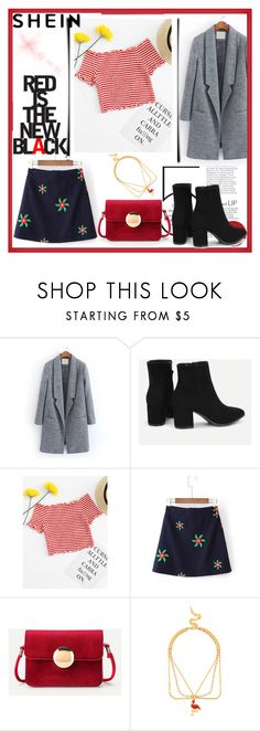 """Red"" by musicajla ❤ liked on Polyvore"